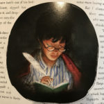 Harry writes in Tom Riddle's diary