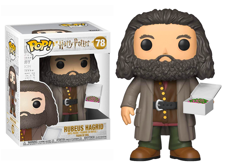 78 Rubeus Hagrid With Birthday Cake 6 Super Sized Pop