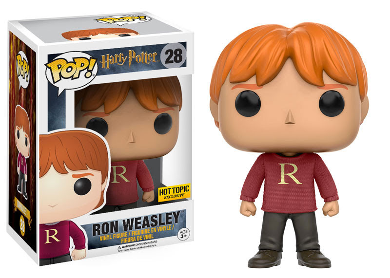 28 Ron Weasley R Sweater Hot Topic Exclusive Harry Potter