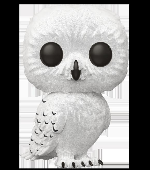 76 Hedwig Flocked Harry Potter Fan Zone
