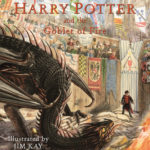 Jim Kay's 'Goblet of Fire' illustrated edition cover artwork